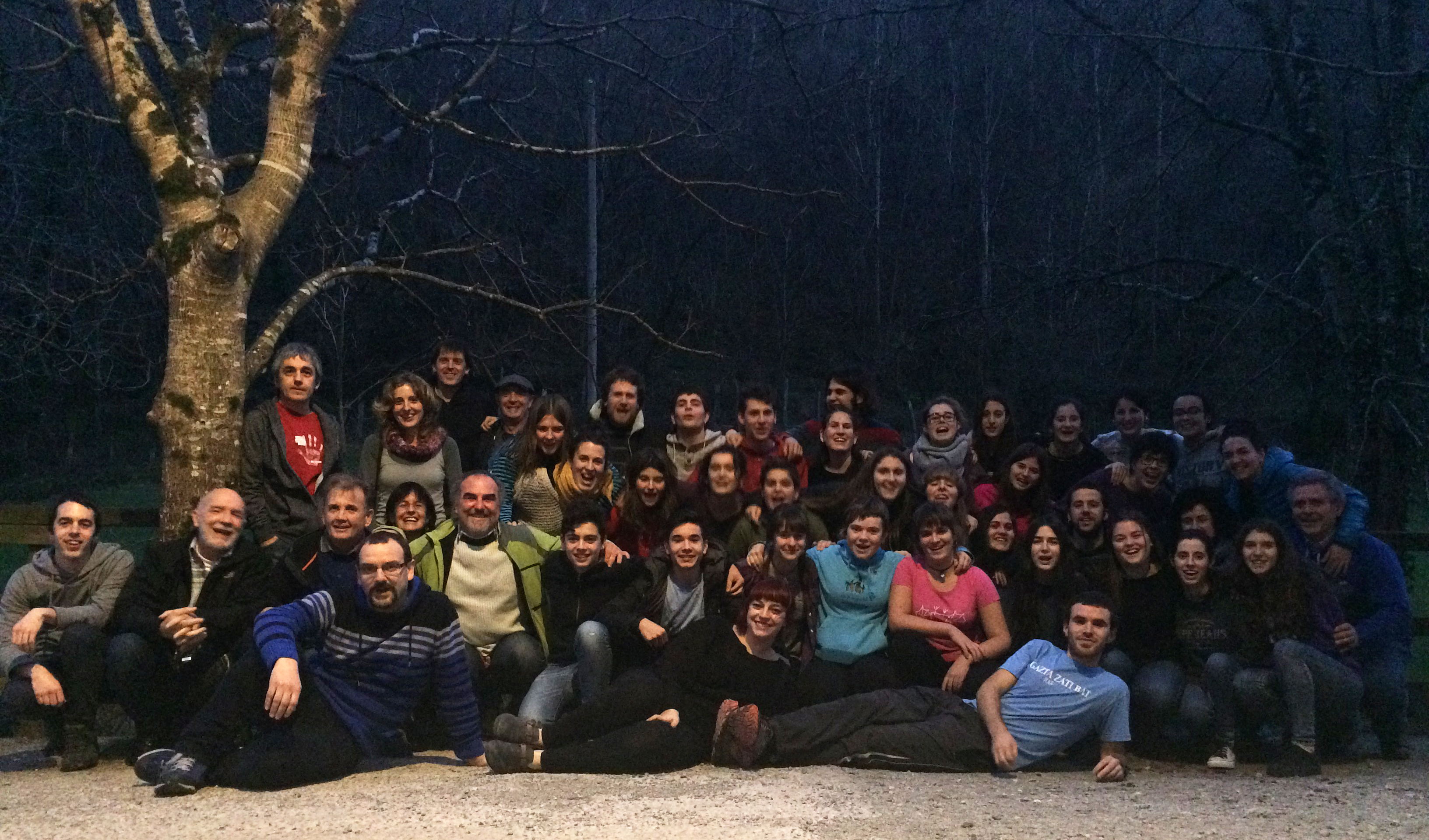 Mintzola will bid farewell to this year at the creative workshop Ahots baten